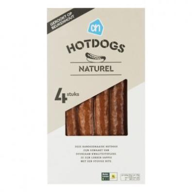 Naturel hotdogs